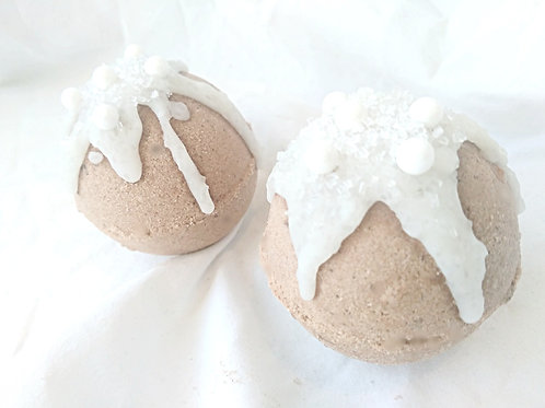 blue egg farmstore completely natural chocolate bath bomb