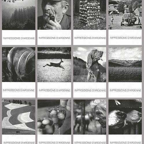 Série de 12 cartes postales