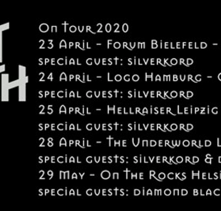 European Tour with Flat Earth dates announced!!
