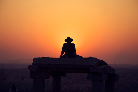 sunset-cowboy