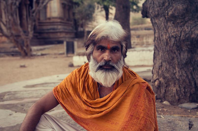Priest in india