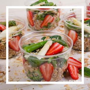 Cocottes Salad spring