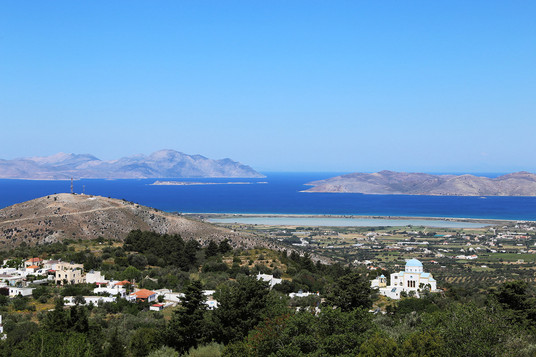 View from Zia, Kos island