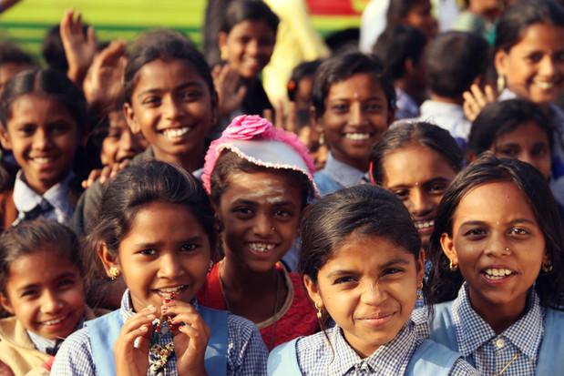 india-smile-children