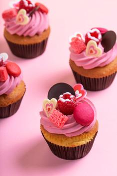 Cocottes Valentine muffins