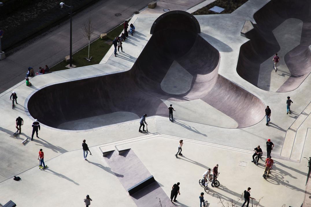 Skaterpark Luxembourg city