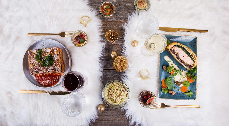 Cocottes Christmas menu