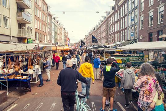 Pijp markt Amsterdam