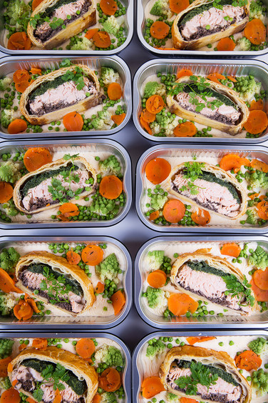 Cocottes Salmon dishes