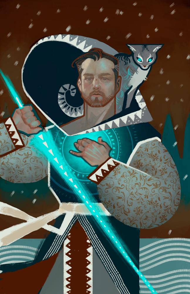Tarot-sketch