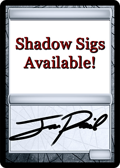 Have your own cards signed!