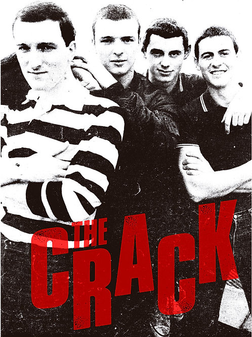 THE CRACK Band A2 Size Poster