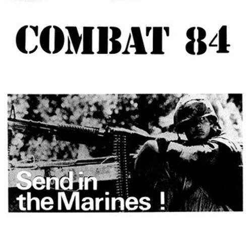 COMBAT 84 Send in the marines LP (Red vinyl)