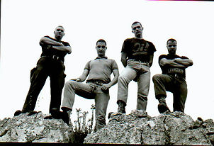 The first ever band on Evil Records was Ultimo Asalto