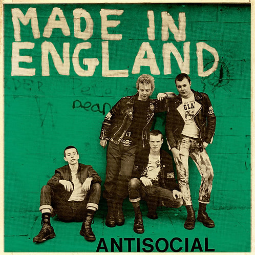 ANTISOCIAL Made in England EP (Green cover) Limited edition 25 copies