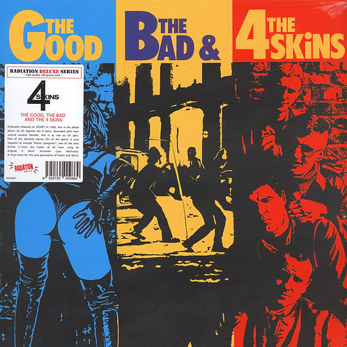 4 SKINS The Good, the bad and the 4 Skins LP