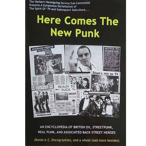 Oi! The Book - Here Comes The New Punk book