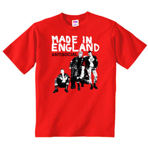 ANTISOCIAL Made in England T-shirt