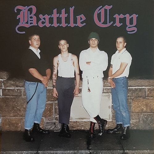 BATTLE CRY s/t LP (American Oi!)