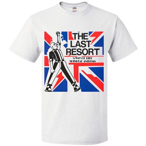 THE LAST RESORT Skinhead Anthems T-shirt