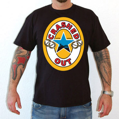 CRASHED OUT Newcastle T-Shirt