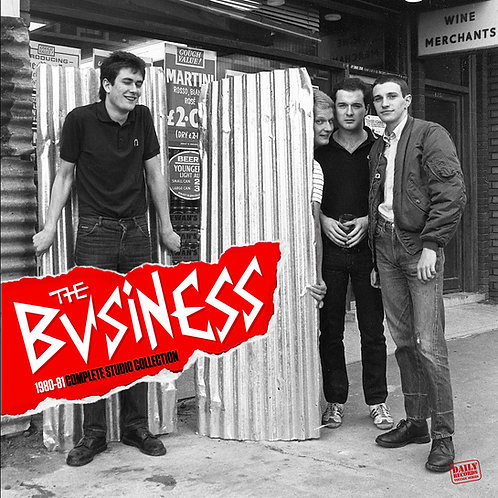 THE BUSINESS 1980-81 Complete Studio Collection LP