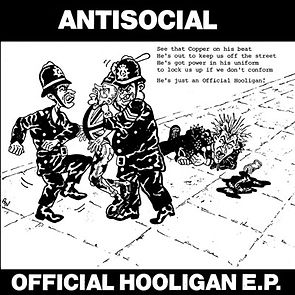Antisocial Official Hooligan original artwork