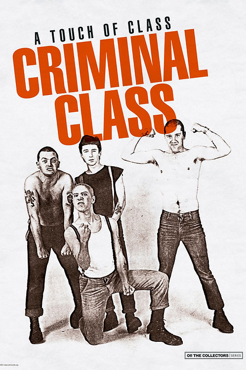CRIMINAL CLASS A Touch of Class A3 Size Poster