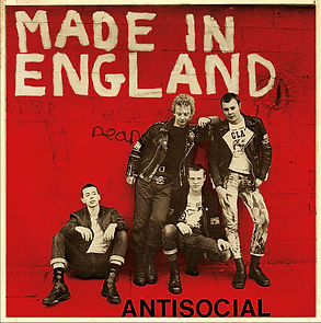 Antisocial Made in England EP limited edition on red cover
