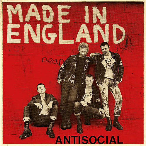 ANTISOCIAL Made in England EP (Red cover) Limited edition 250 copies
