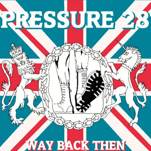 PRESSURE 28 Way Back Then LP + zine