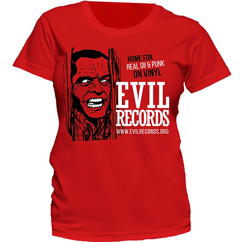 EVIL RECORDS Home for real Oi! GIRL T-shirt
