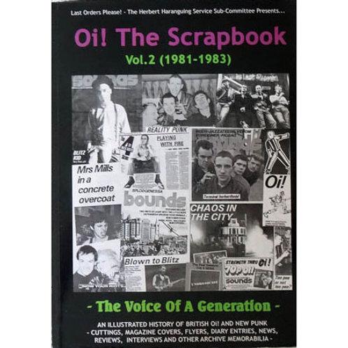 OI! THE SCRAPBOOK Vol. 2 (1981-1983)
