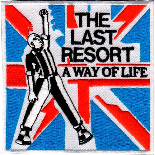 THE LAST RESORT Skinhead Anthems Patch