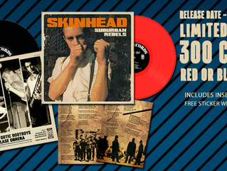 """SUBURBAN REBELS """"SKINHEAD"""" EP ON THE STREETS"""