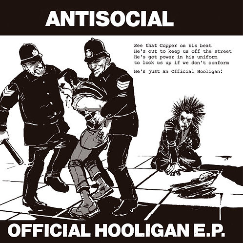 ANTISOCIAL Official Hooligan EP (Limited to 300 copies)