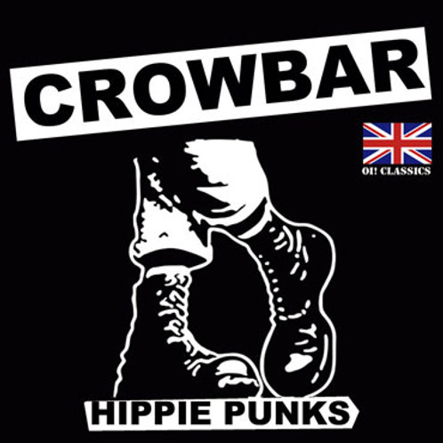 "CROWBAR Hippy Punk 7"" Skinhead cover (Lim. 25 copies) Yellow vinyl"