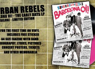 "SUBURBAN REBELS ""BARCELONA OI!"" LP"