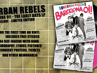 "SUBURBAN REBELS ""BARCELONA OI!"" LP"