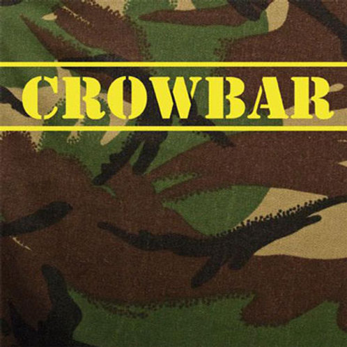 "CROWBAR Hippy Punk 7"" Camo cover (black vinyl)"