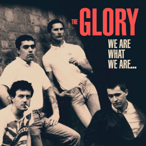 THE GLORY We Are What We Are LP (Blue vinyl) Limited edition 150 copies