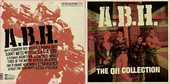 ABH The Oi! Collection LP artwork