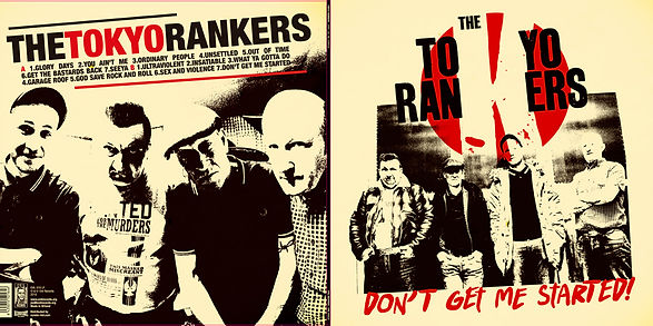 Tokyo Rankers artwork front and back