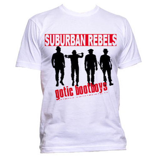 SUBURBAN REBELS Gotic Bootboys T-shirt