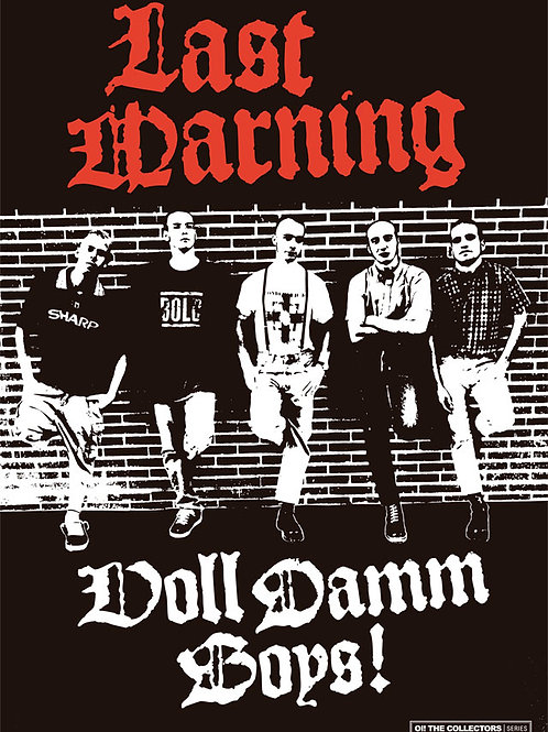 LAST WARNING Voll Damm Boys A3 Size Poster