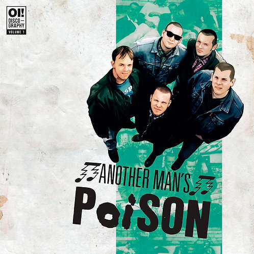 ANOTHER MANS POISON Oi! Discography Vol. 1 LP (Green Vinyl)