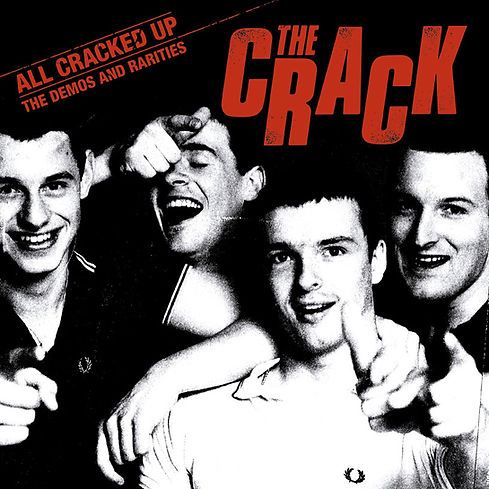 THE CRACK All Cracked Up - The Demos and Rarities LP Limited edition vinyl release