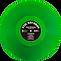 Green Kelly vinyl for Last Warning Voll Damm Boys LP