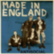 ANTISOCIAL Made in England EP (Blue) Cover limited to 25 copies