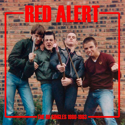 RED ALERT The Oi! Singles 1980-1983 LP